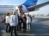 Auf dem Weg nach Cuba... Abflug bei -15 bis -20°C