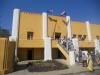 Santiago, Cuartel Moncada, die alten Einschußlöscher an der Fassade werden sorgfältig gepflegt