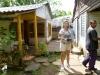 Fahrt von Santiago nach Baracoa, Bauernfamilie