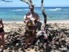 Ausflug ans Meer bei Baracoa, frische Kokosnuss