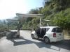 Start zur Fahrt hoch auf der steilsten Straße (sicher Kubas, vielleicht der Welt)