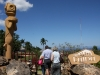Guardalavaca, Besuch eines Museums über frühere Einheimische