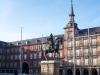 Erstes Umschauen nach der Ankunft : Plaza Mayor