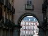Stadtführung: Tor zur Plaza Mayor, Plaza Sta Cruz