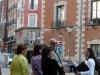 Stadtführung: an der Plaza Sta Cruz