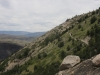 Rückweg im Valle Ascencio