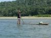 Die ersten Stunden auf dem Fluß, Einheimischer