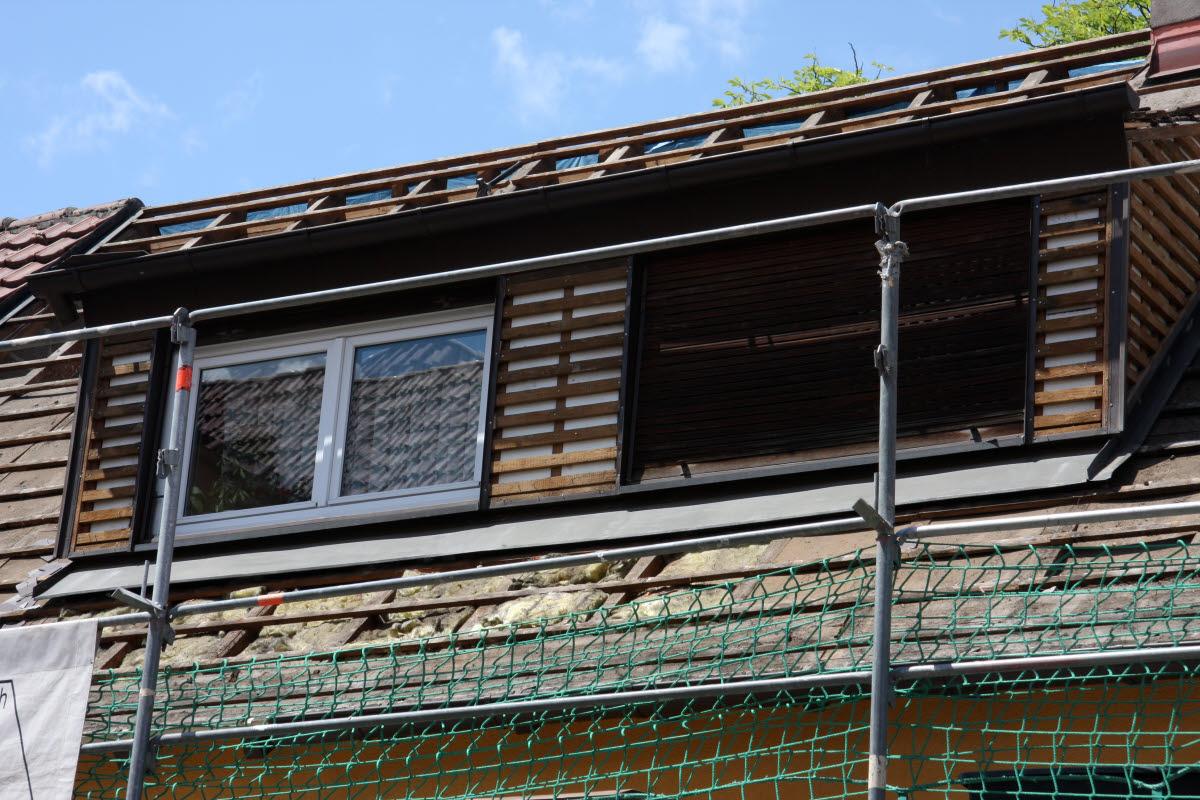 Tag 1 (Mit): vordere Dachgaube