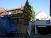 Tag 1 (Mit): Haus angerüstet, noch nicht begonnen