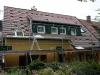 Tag 6 (Mit): hintere Seite fertig gedeckt, Dachgaube noch zu verkleiden