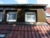 Fertig: verkleidete Dachgaube hinten