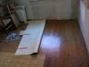 Küche, noch ist der alte Boden drin