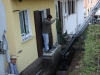 Sanierung Kellerwand, Garten Zisterne