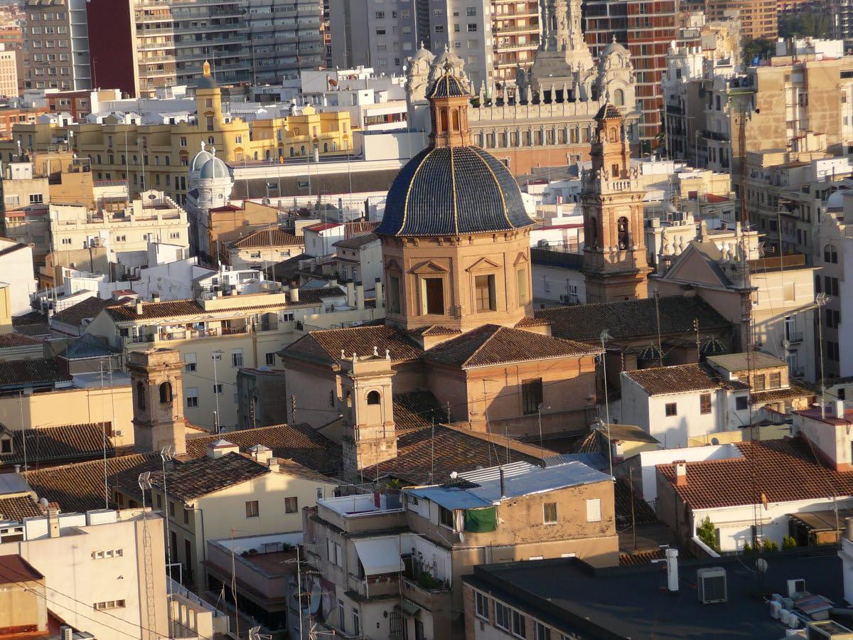 Stadtrundgang 1. Tag: Auf dem Turm der Kathedrale, Blick auf die Stadt