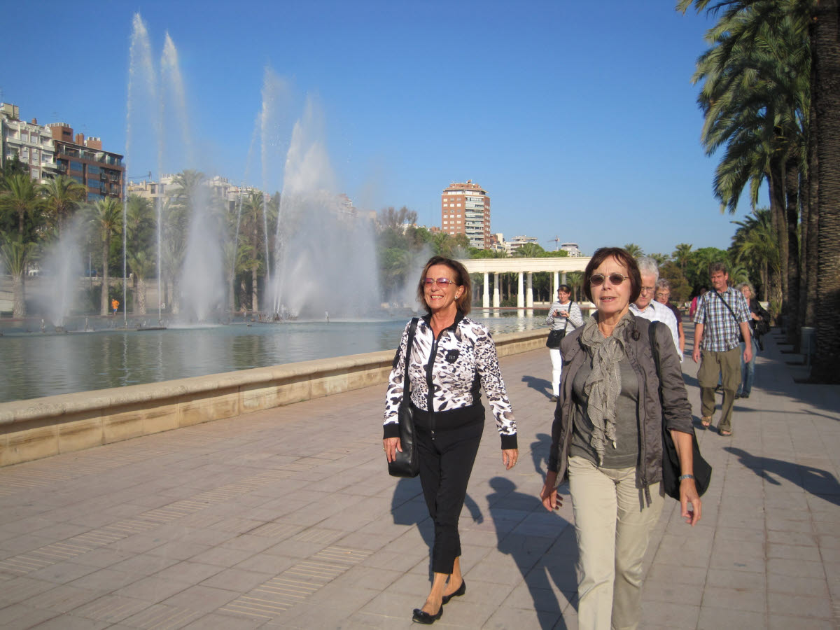 2. Tag, Spaziergang zur Ciudad de las Ciencias