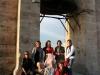 Stadtrundgang 1. Tag: Auf dem Turm der Kathedrale, el grupo