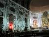 Stadtbesichtung 1. Tag: Abend, in einer Kirche