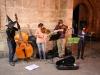 Stadtbesichtigung 1. Tag: Straßenmusiker an Halloween