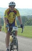 Herbert auf dem Rennrad 2006