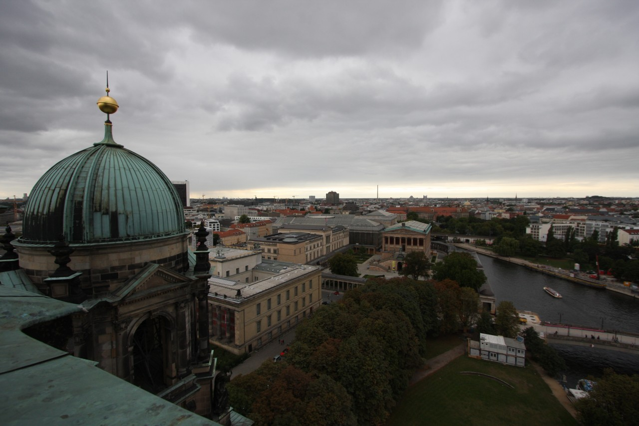 Blick vom Berliner Dom (Kuppel) Richtung Museen