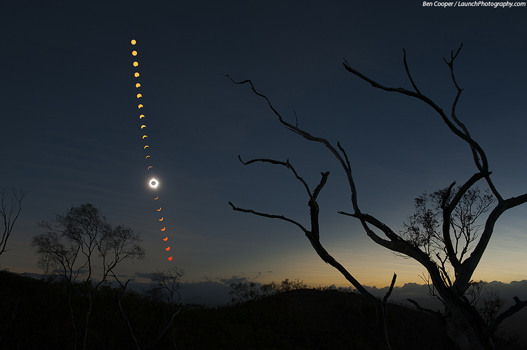 Sonnenfinsternis 2012, Queensland, Australien