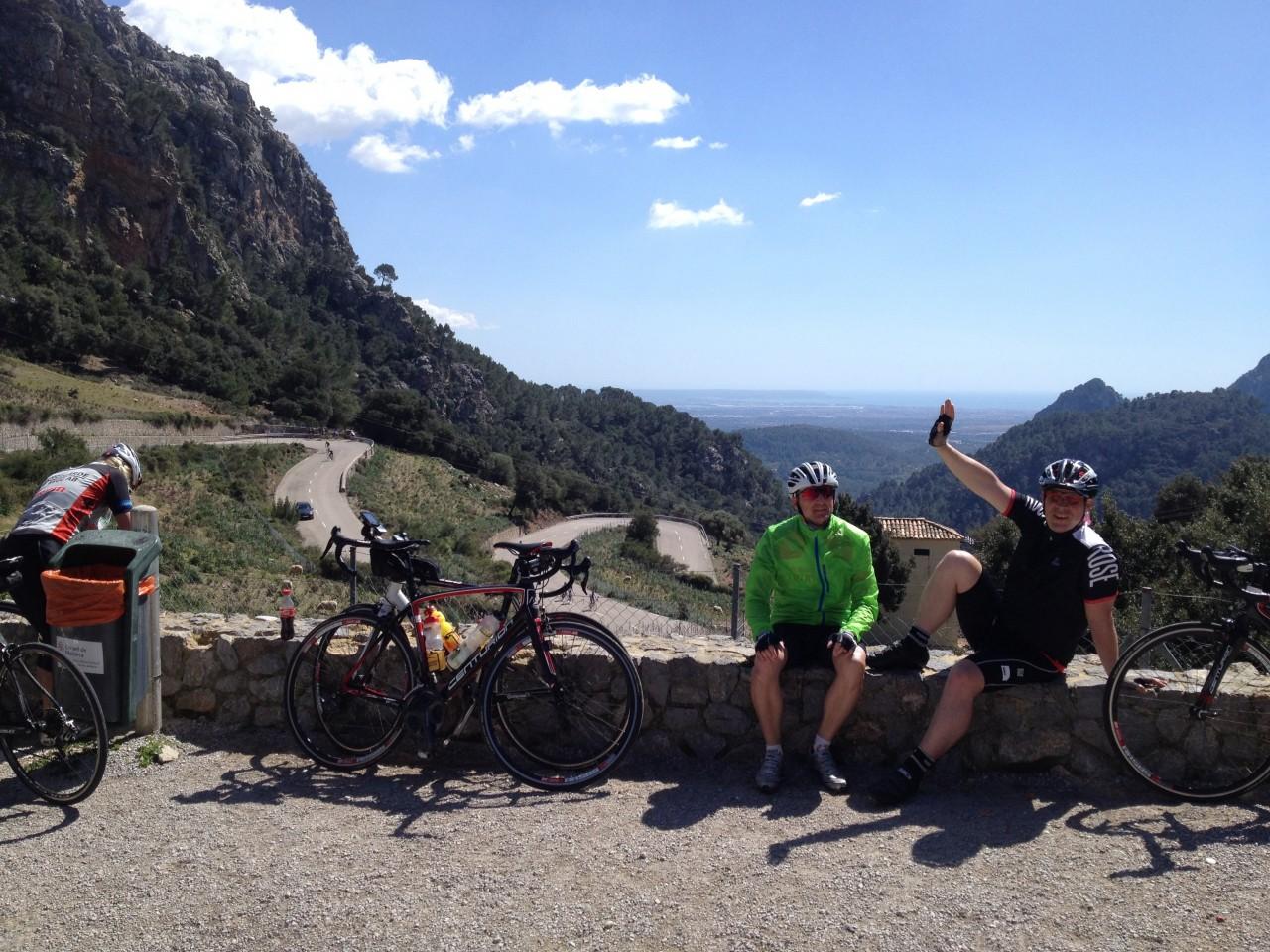 Mallorca 2014, Sa 5.4., Soller Pass