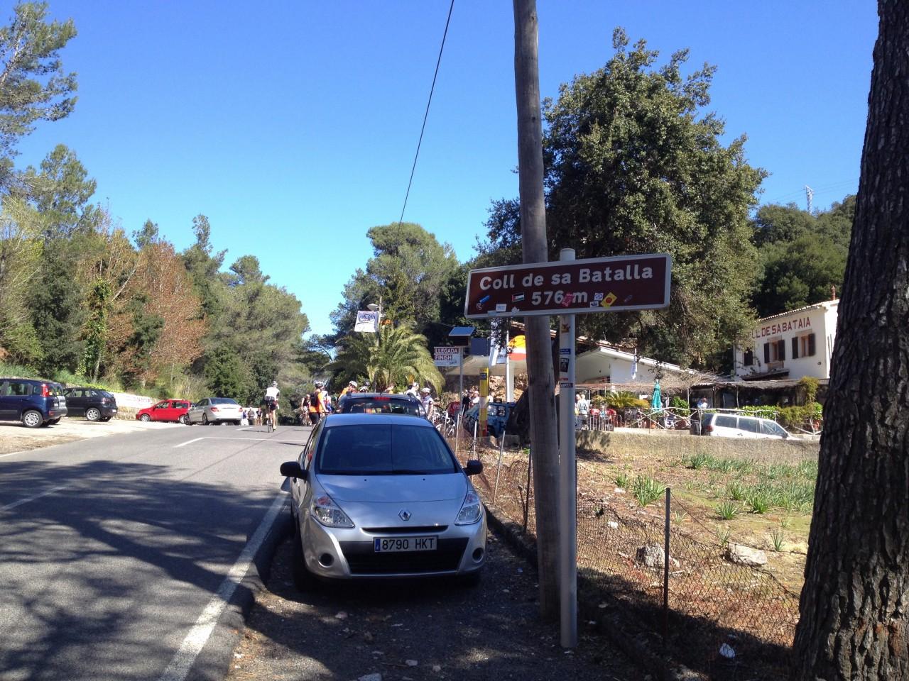 Coll de sa Batalla, Pass von Caimari zum Kloster Lluc