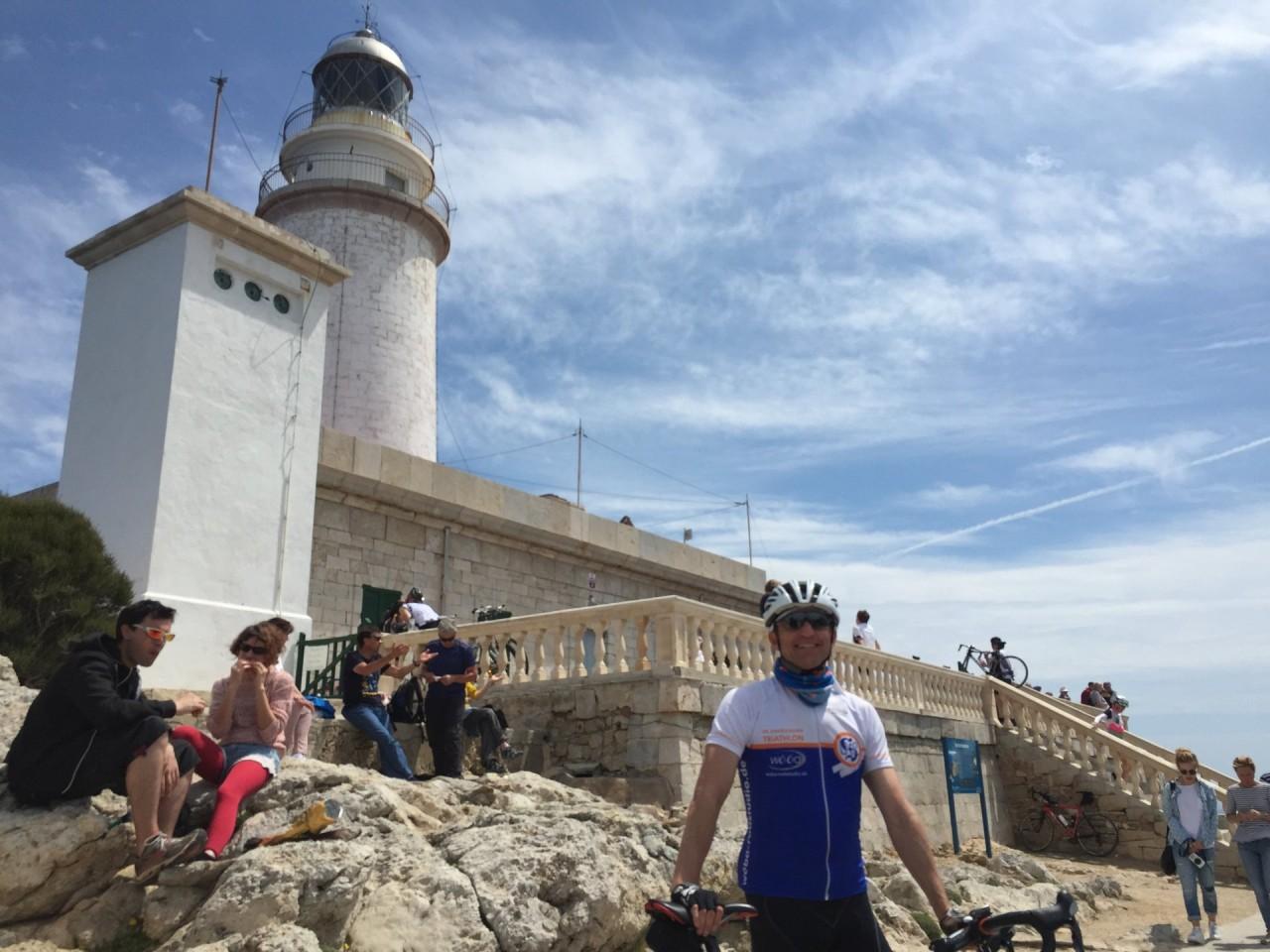 Jürgen am Leuchtturm Cap Formentor