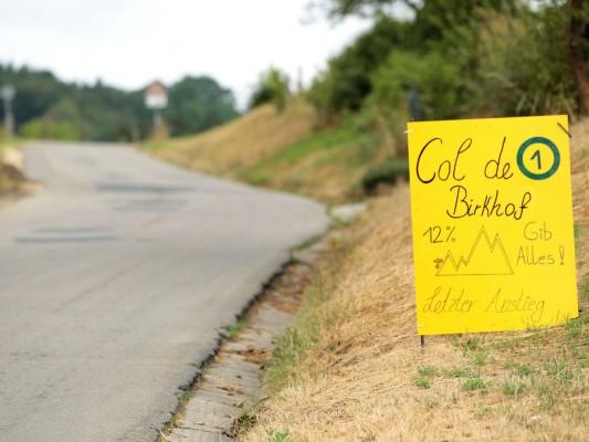 Col de Birkhof - 12% - Gib Alles! - Letzter Anstieg