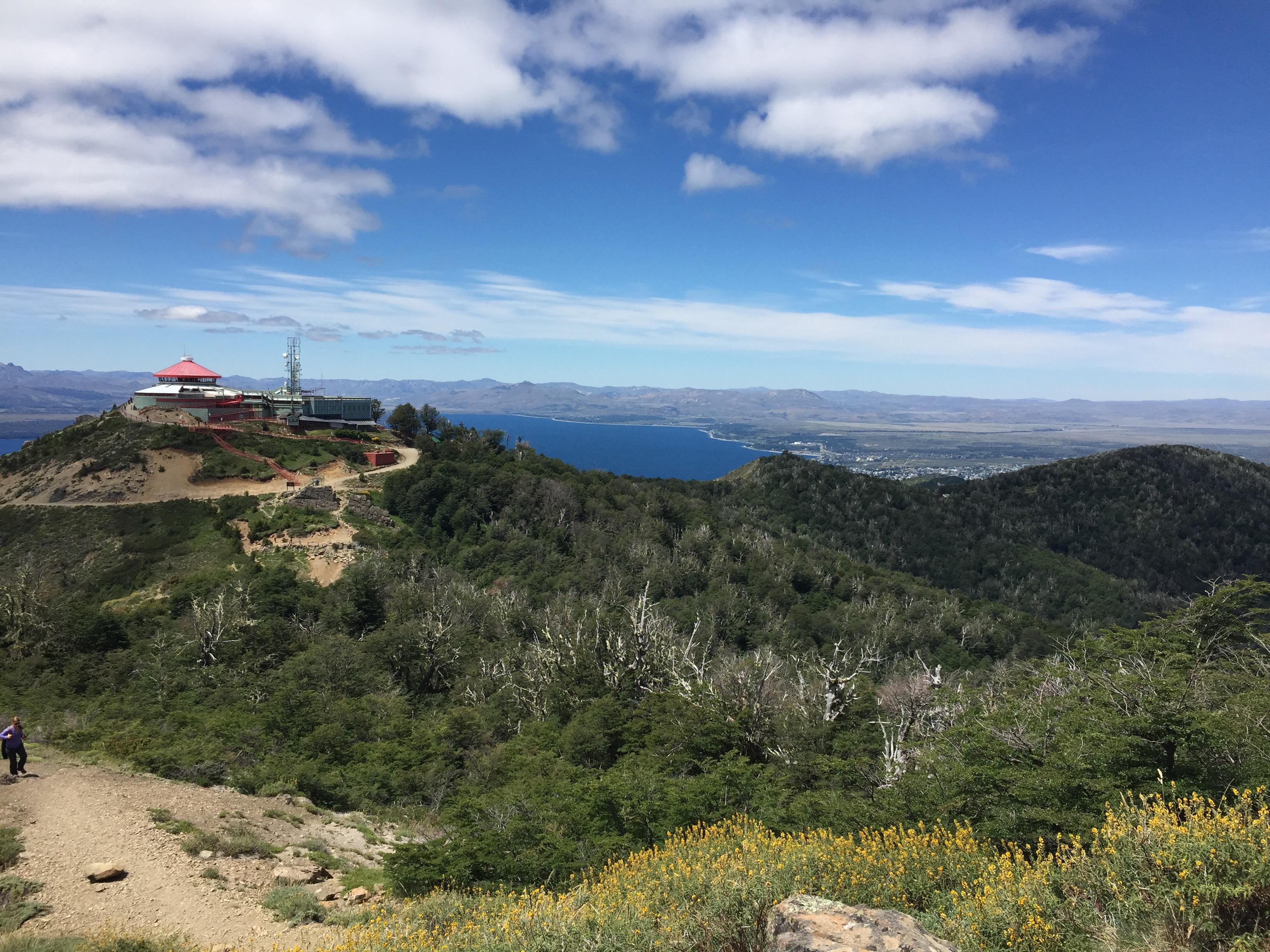 Cerro Otto, Blick zum Lago Nahuel Huapi, Bariloche