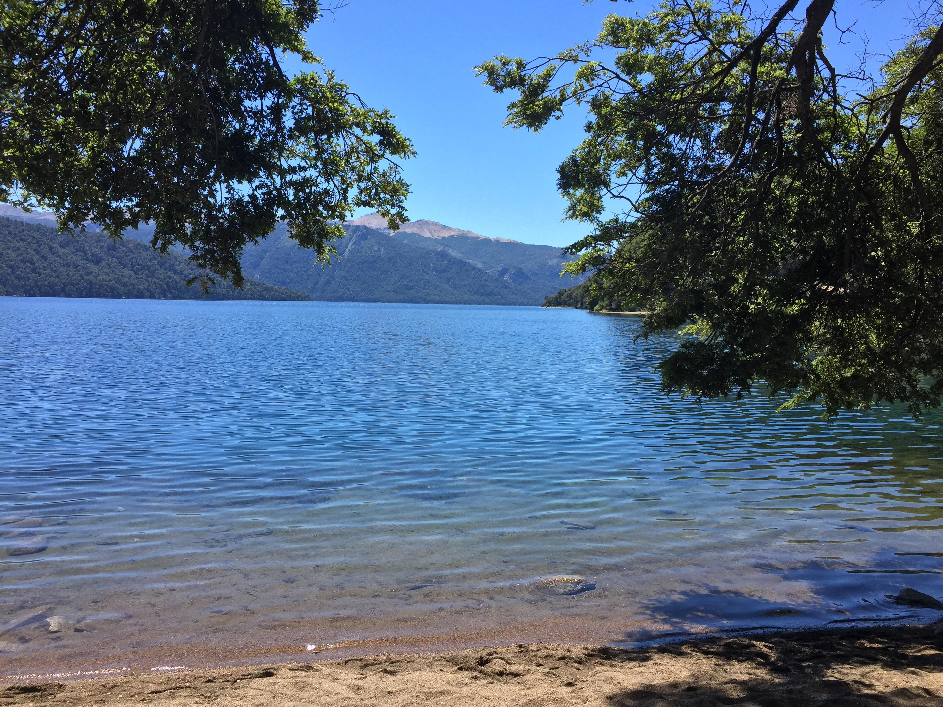 Ausblick auf den Lago Traful