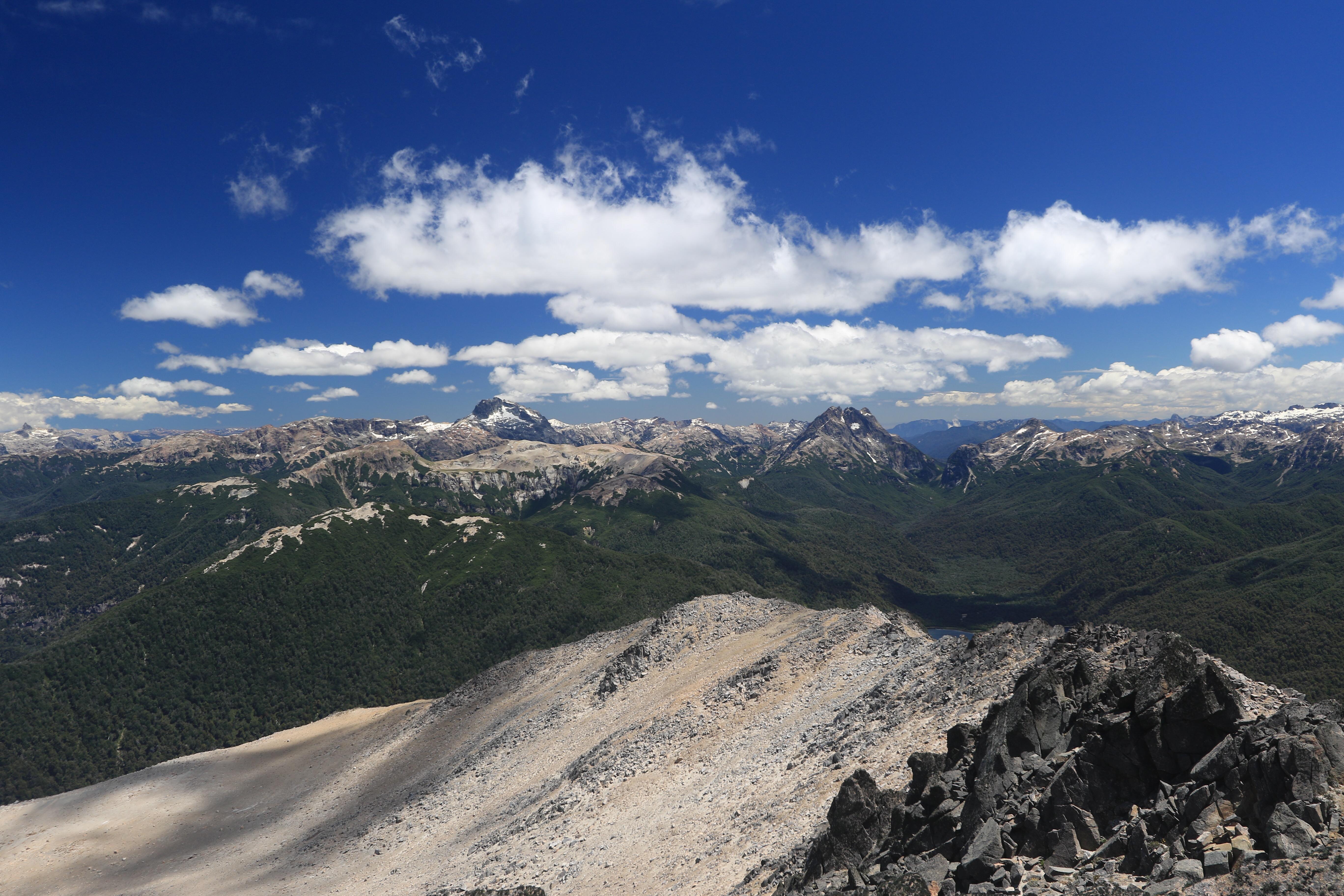 Blick vom Cerro Falkner
